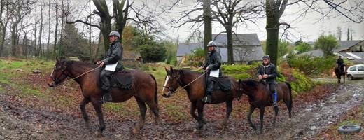 randonnée à cheval janvier 2015